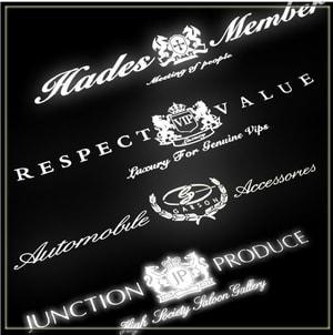 Tem Junction Produce, Respect Value, AutoMobile dán trang trí kính ô tô ms-353