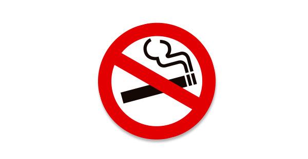 Tem Không hút thuốc No Smoking dán xe ô tô