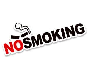 Tem Không hút thuốc No Smoking (mẫu 2) dán xe ô tô Ms-183