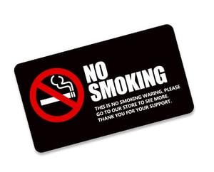 Tem không hút thuốc No Smoking (mẫu 3) dán xe ô tô Ms-184