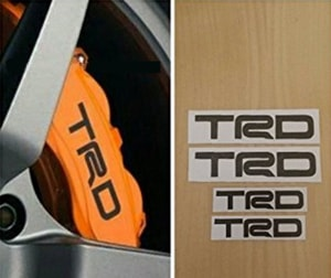 Tem TRD chịu nhiệt dán phanh ô tô Ms-162