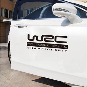 Tem WRC Fia World Rally Championship dán sườn xe ô tô ms-09