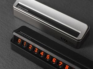 Bảng gắn số điện thoại trên taplo ô tô Tita (mẫu 9)