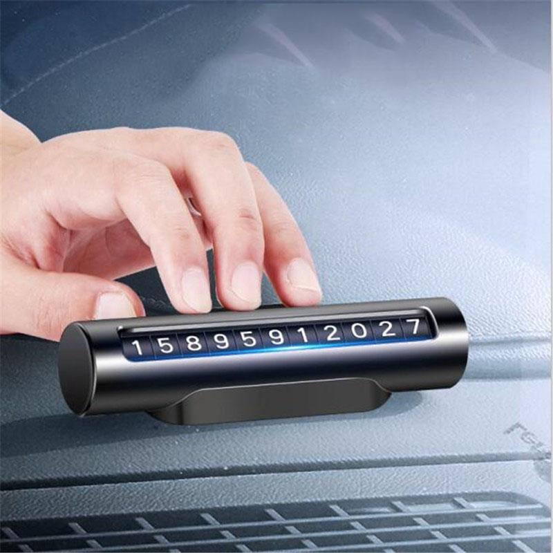 Bảng số điện thoại ô tô dạng xoay (mẫu 35 )