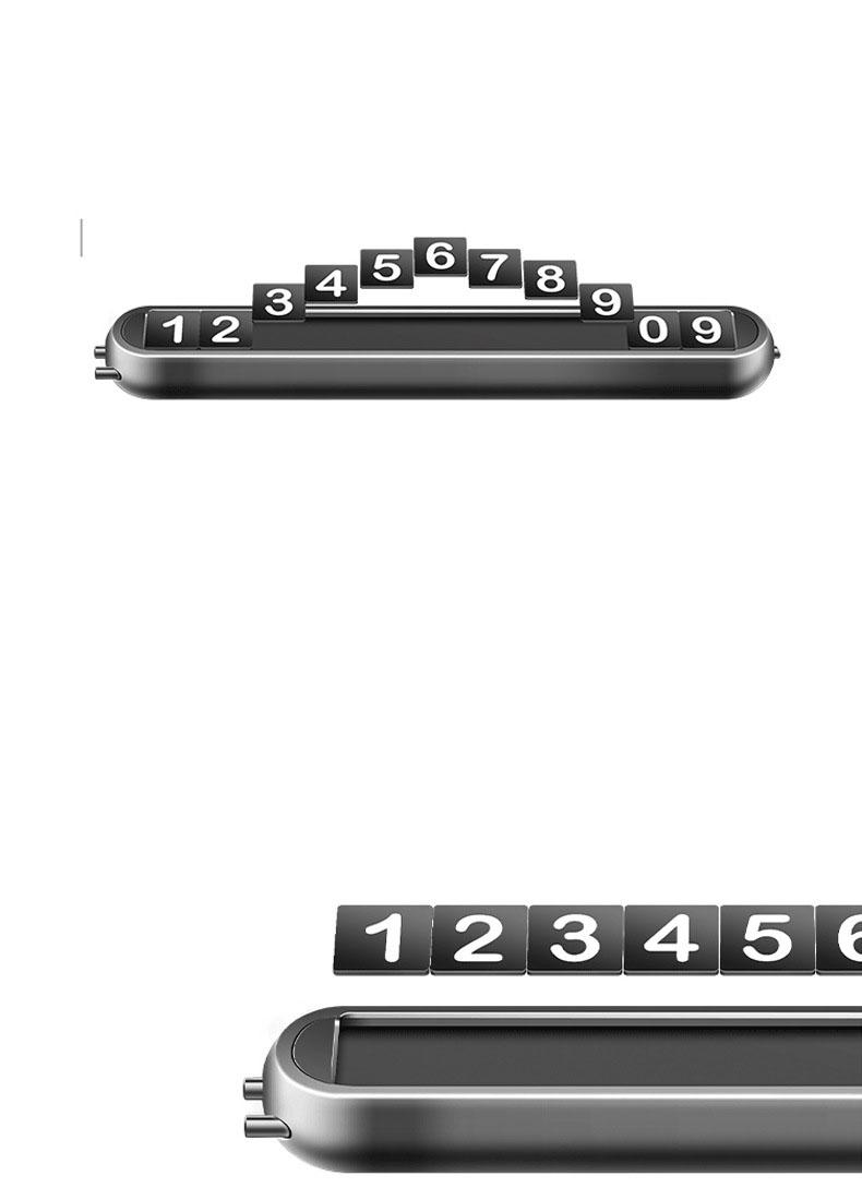 Bảng ghi số điện thoại trên ô tô GD mẫu 20
