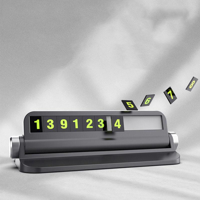 Bảng ghi số điện thoại ô tô kiêm giá để điện thoại (mẫu 22)