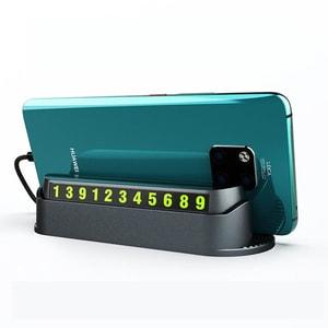 Bảng ghi số điện thoại ô tô kiêm giá để điện thoại (mẫu 16)