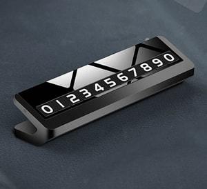 Bảng ghi số điện thoại trên ô tô kim loại mẫu 25