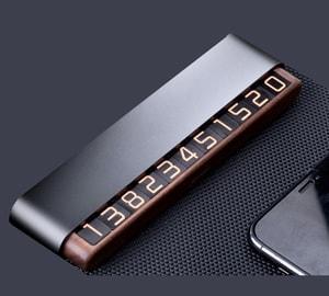 Bảng ghi số điện thoại trên ô tô cao cấp ( mẫu 26 )