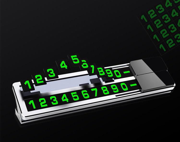 Bảng ghi số điện thoại trên ô tô ( mẫu 30 )