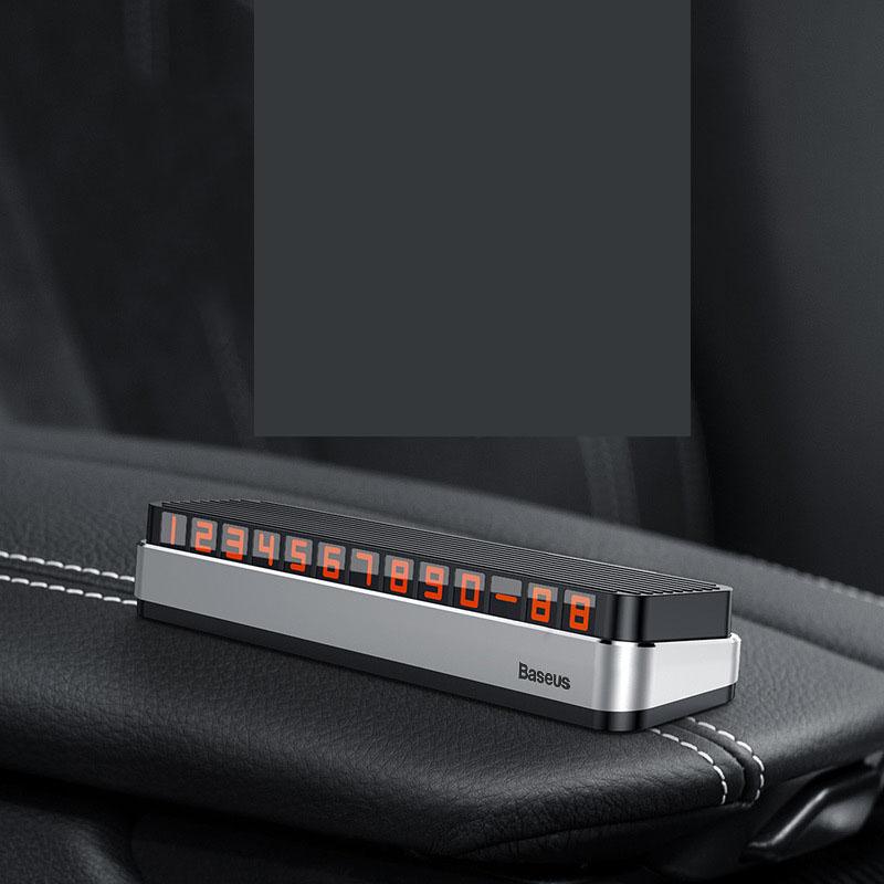 Bảng ghi số điện thoại trên ô tô chính hãng Baseus ( mẫu 33 )