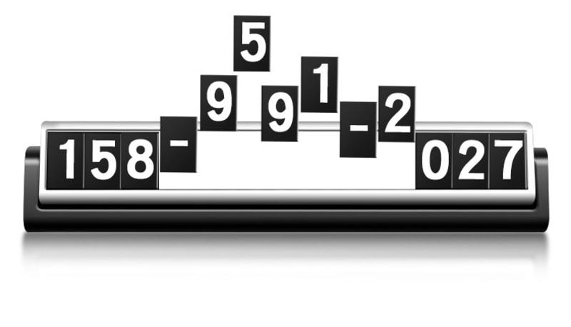 Bảng Số Điện Thoại Ô Tô (mẫu 3)