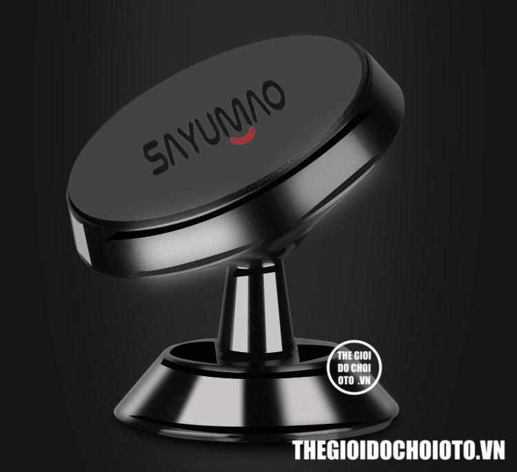 Giá đỡ điện thoại xoay 360 độ hút từ nam châm cực mạnh (mẫu 4)