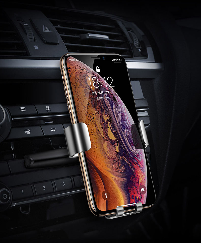Giá đỡ điện thoại kẹp cửa đĩa CD ô tô chính hãng Baseus (mẫu 61)