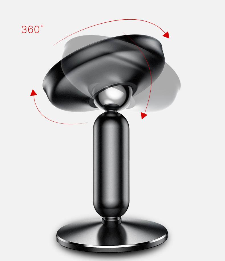 Giá đỡ điện thoại hút nam châm gắn taplo Baseus (mẫu 24)