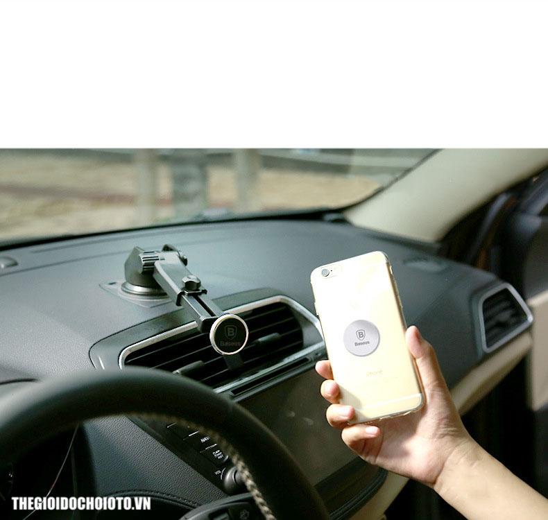 Giá đỡ điện thoại hút nam châm có cần kéo dài Baseus mẫu 28