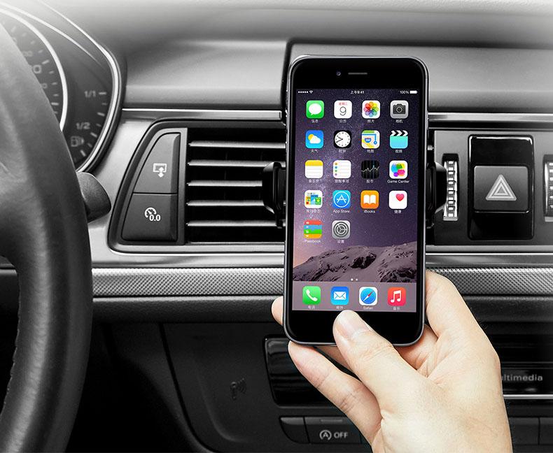 Giá đỡ điện thoại kẹp cửa gió ô tô (mẫu 32)