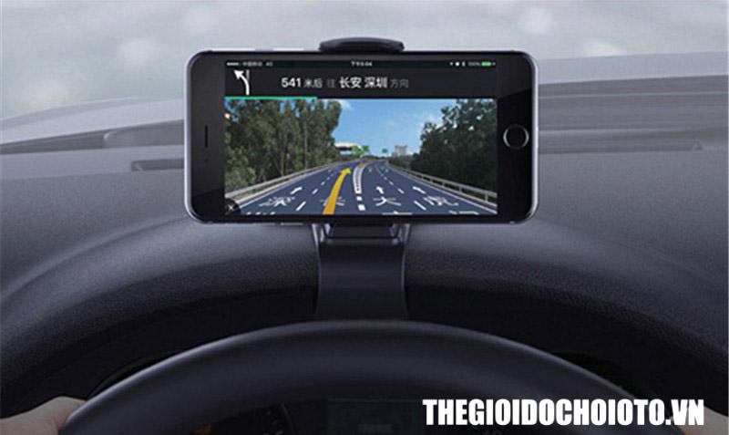 Giá đỡ điện thoại gắn taplo ô tô dạng kẹp (mẫu 18)