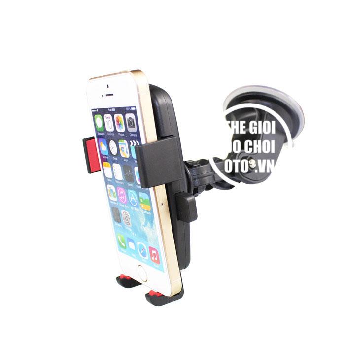 Giá đỡ, kẹp điện thoại trên ô tô