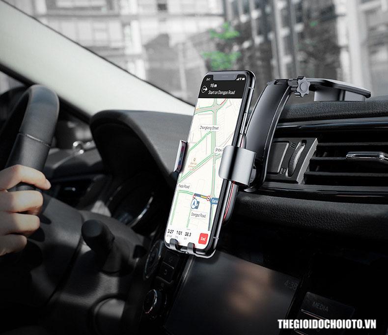 Giá đỡ điện thoại Baseus trọng lực dán taplo ô tô