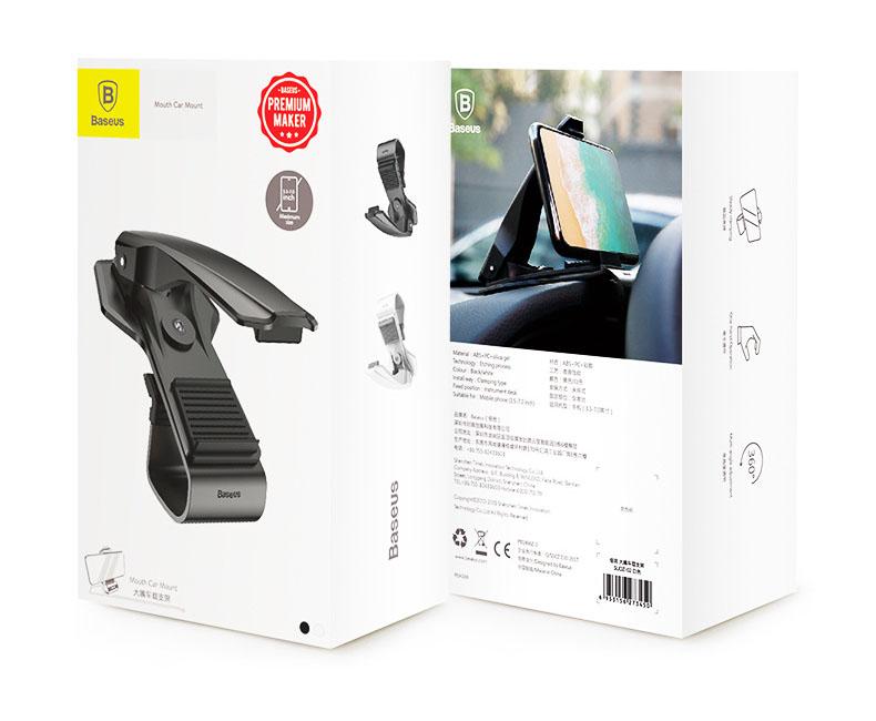 Giá đỡ điện thoại ô tô dạng kẹp Baseus (mẫu 29)