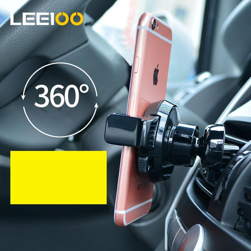Giá đỡ điện thoại gắn cửa gió ô tô ( mẫu 110 )