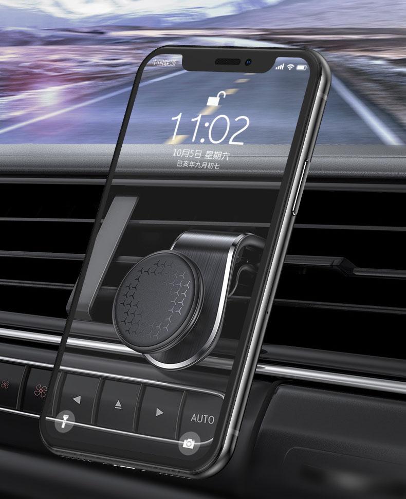 Giá đỡ điện thoại nam châm gắn cửa gió ô tô (mẫu 93)