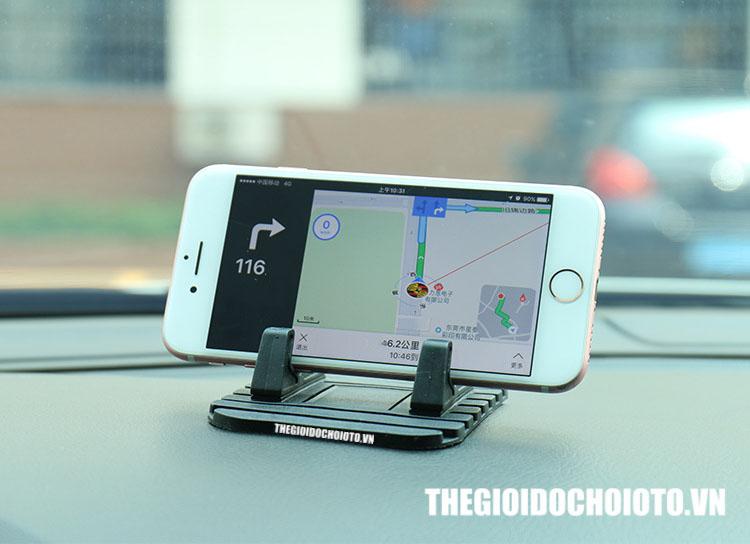 Giá đỡ điện thoại Silicon sử dụng cho ô tô cũng như cho ở văn phòng (mẫu 8)