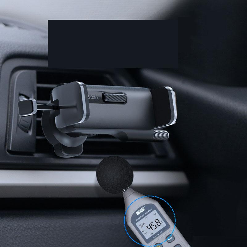 Giá đỡ điện thoại kẹp cửa gió điều hòa ô tô ( mẫu 102 )