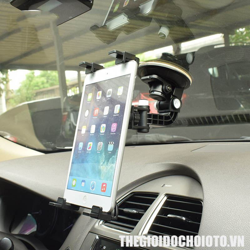 Giá đỡ, kẹp điện ipad trên ô tô (mẫu 2)
