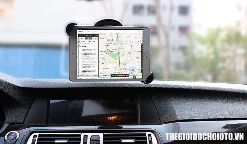 Giá đỡ, kẹp ipad, máy tính bảng trên ô tô (mẫu 3)
