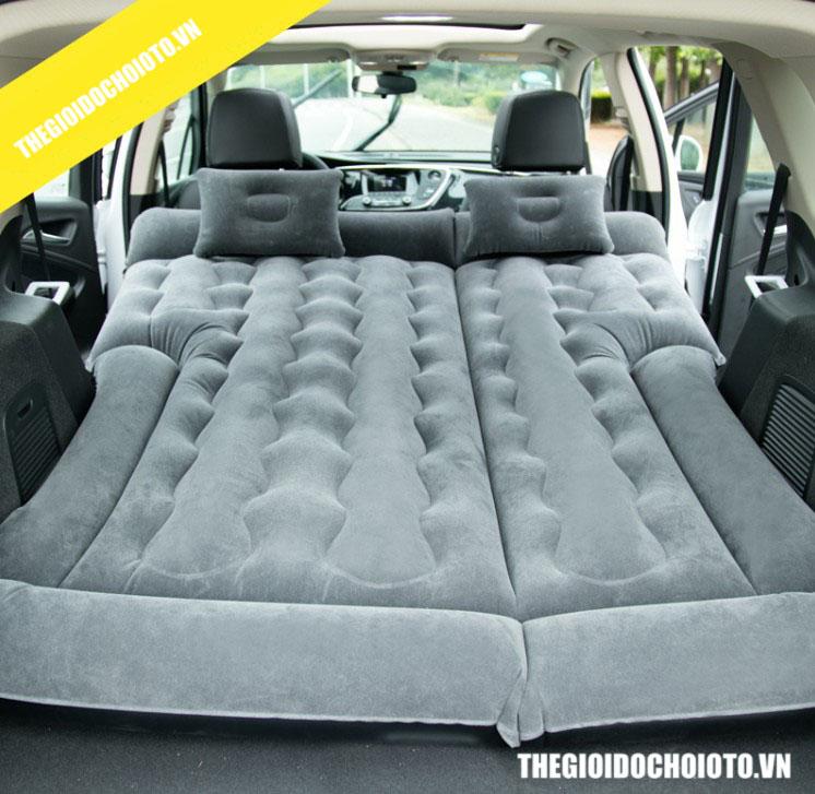 Giường hơi ô tô cho xe SUV phủ nhung cao cấp