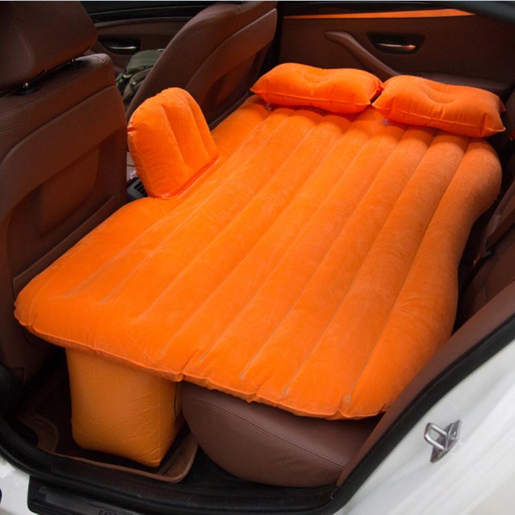 Giường hơi ô tô loại có phủ một lớp nhung mềm mại