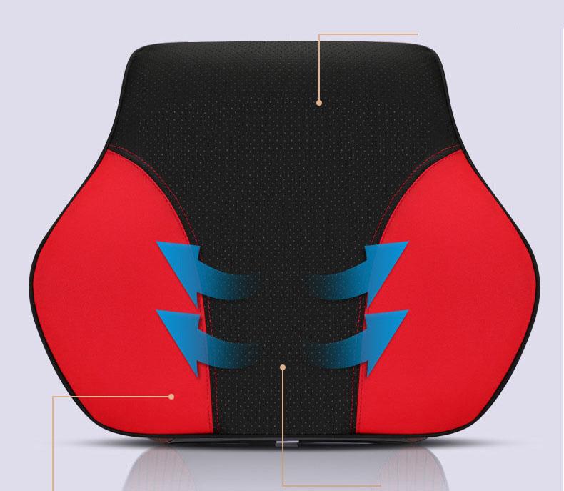 Bộ gối đầu dựa lưng ô tô  (mẫu 31)