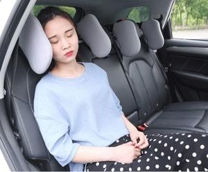 Gối tựa đầu gật gù - gối tựa đầu khi ngủ trên ô tô