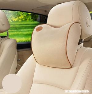 Gối tựa đầu cao su non cho ô tô kiểu mỏng (mẫu 20)
