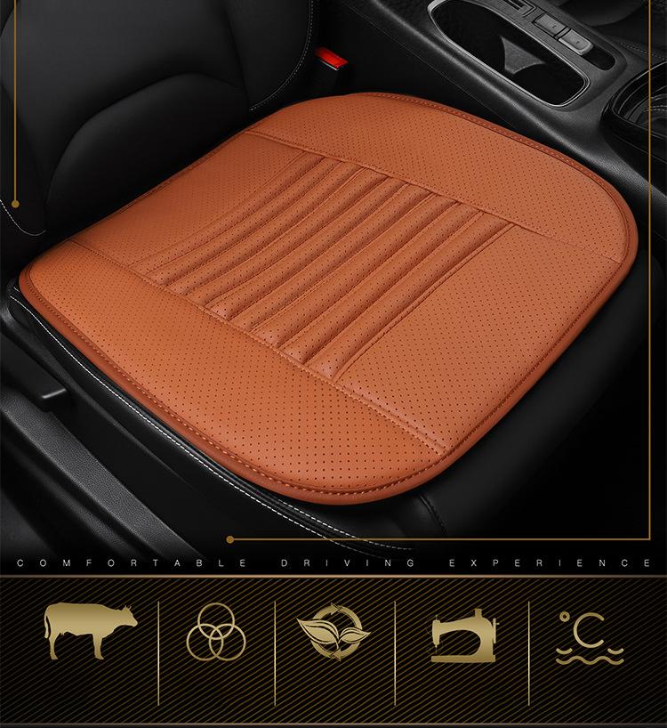 Tấm lót ghế ô tô bằng da bò cao cấp (mẫu 3)