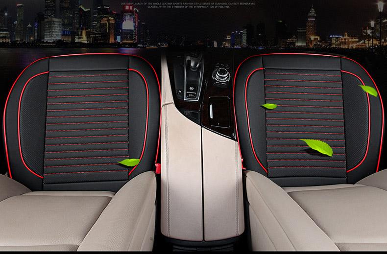 Tấm lót ghế ô tô bằng da cho ghế trước ( mẫu 2a )