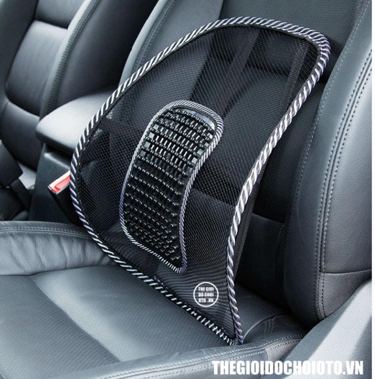 Tấm lưới tựa lưng massage cho ghế ô tô và ghế văn phòng