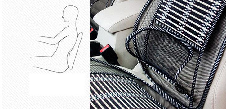 Tấm lưới tựa lưng massage thoáng mát( mẫu 8 )