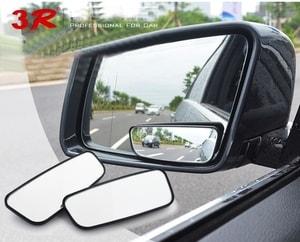 Gương cầu lồi hình chữ nhật xoay 360 độ gắn gương ô tô (mẫu 3)