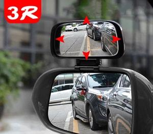 Gương phụ trợ gắn trên gương ô tô xóa điểm mù ( mẫu 1)