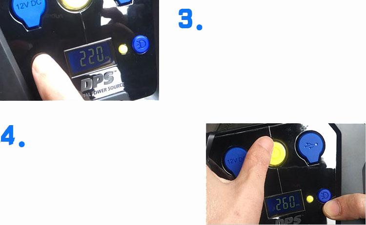 Máy bơm lốp ô tô điện tử tự ngắt Michelin 4398ML