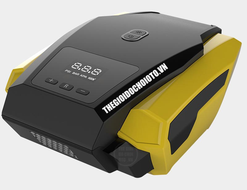 Máy bơm ô tô 12V màn hình led digital