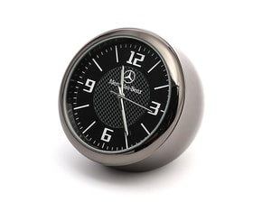 Đồng hồ logo các hãng xe trang trí ô tô