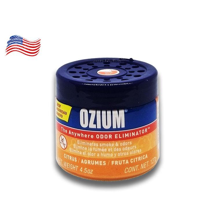 Sáp Gel khử mùi ô tô Ozium Air Citrus từ Mỹ
