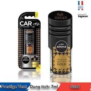 Nước hoa cài cửa gió ô tô Aroma Prestige Vent  Gold - Pháp