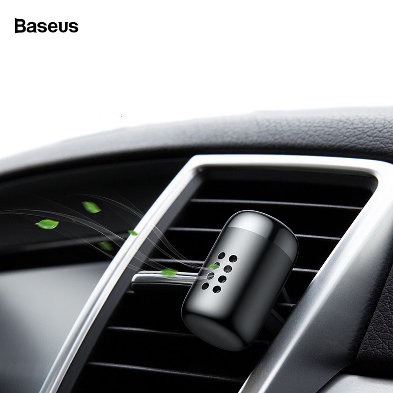 Nước Hoa sáp thơm kẹp của gió ô tô Baseus làm sạch không khí và tạo hương thơm dễ chịu