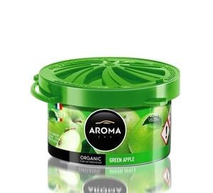 Sáp thơm ô tô Aroma Organic Green Apple mùi táo Pháp