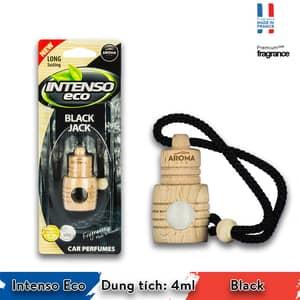 Tinh dầu treo xe ô tô Aroma Intenso Eco Black - Pháp
